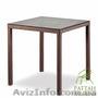 Столы и кресла из ротанга,  Стол Милан