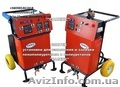 Оборудование для напыления и заливки  пенополиуретанов ППУ,  высокого и низкого д