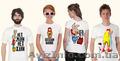 Печать на футболках,  именные футболки,  нанесение логотипа на футболку,  Херсон