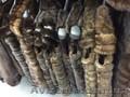 Теплая меховая жилетка песец
