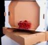 Картонный ящик для клубники под пинетку